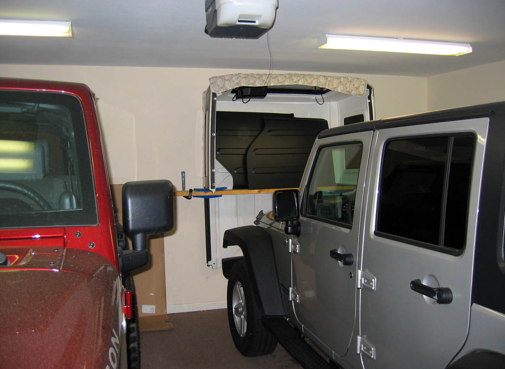 Cheap Easy Hardtop Hanger Storage Solution Jk Forum